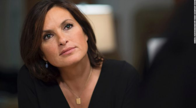 "LAW & ORDER: SPECIAL VICTIMS UNIT -- ""Internal Affairs""  Episode 1504 -- Pictured: Mariska Hargitay as Detective Olivia Benson -- (Photo by: Michael Parmelee/NBC/NBCU Photo Bank)"